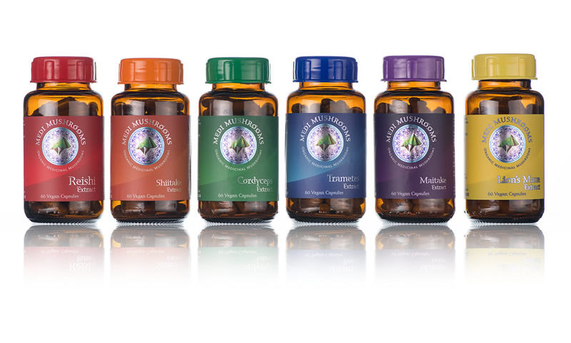 Medi Mushrooms Immunity Range